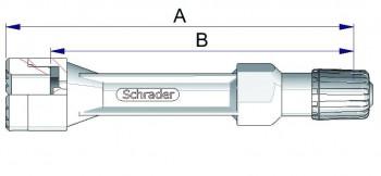 Воздухонепроницаемый удлинитель из жесткого пластика  42563-68